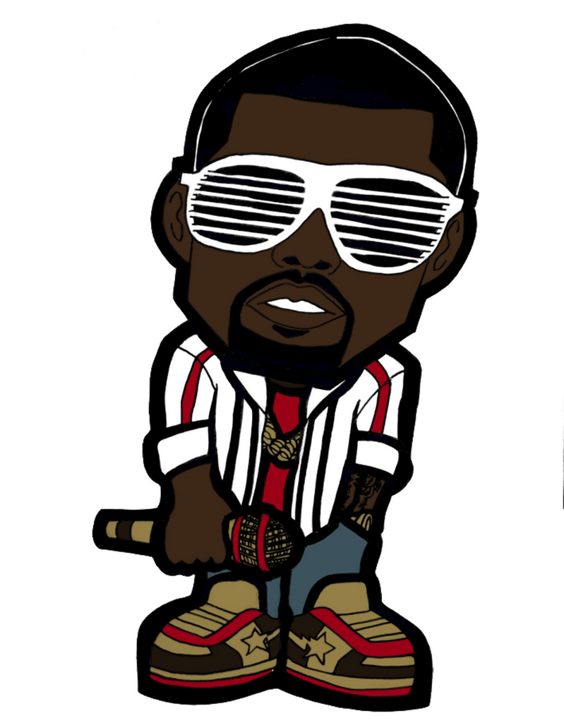 . ClipartLook.com Chibi Kanye West | by Eye of The Sun God