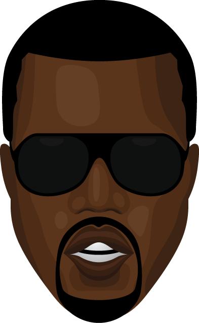 Kanye West by itterheim ClipartLook.com