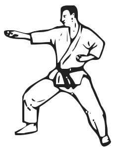 Karate clip art free download - Martial Arts Clipart
