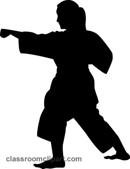 Karate Clip Art-Karate Clip Art-19