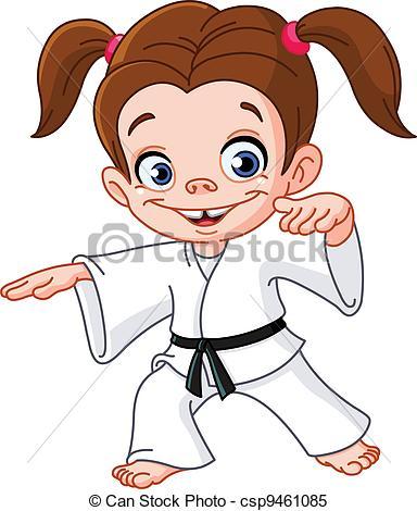 . ClipartLook.com Karate girl-. ClipartLook.com Karate girl-15