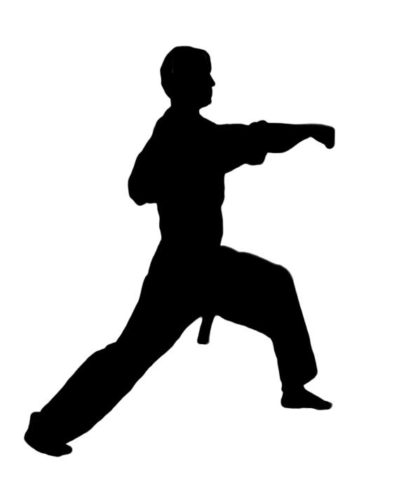 Karate Figures Clipart Kid 3-Karate figures clipart kid 3-11