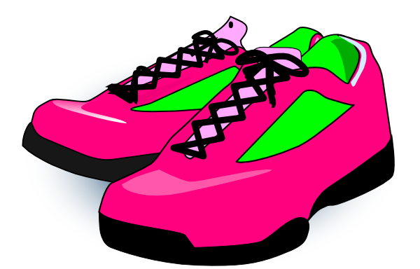 Karson Blaster Shoes Clip Art - Clip Art Sneakers