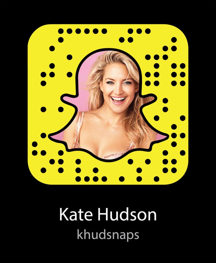 Kate Hudson Snapcode