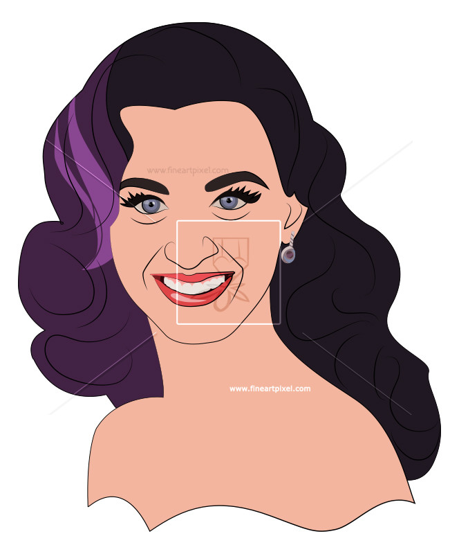 Katy Perry | Free Vectors, Illustrations-Katy Perry | Free vectors, illustrations, graphics, clipart, PNG downloads  | fineartpixel clipartlook.com-9