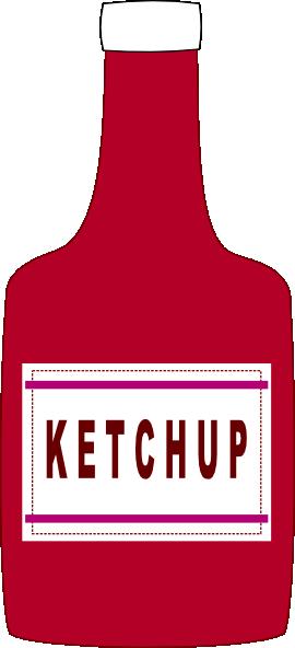 Ketchup Bottle Clip Art At Clker Com Vector Clip Art Online Royalty