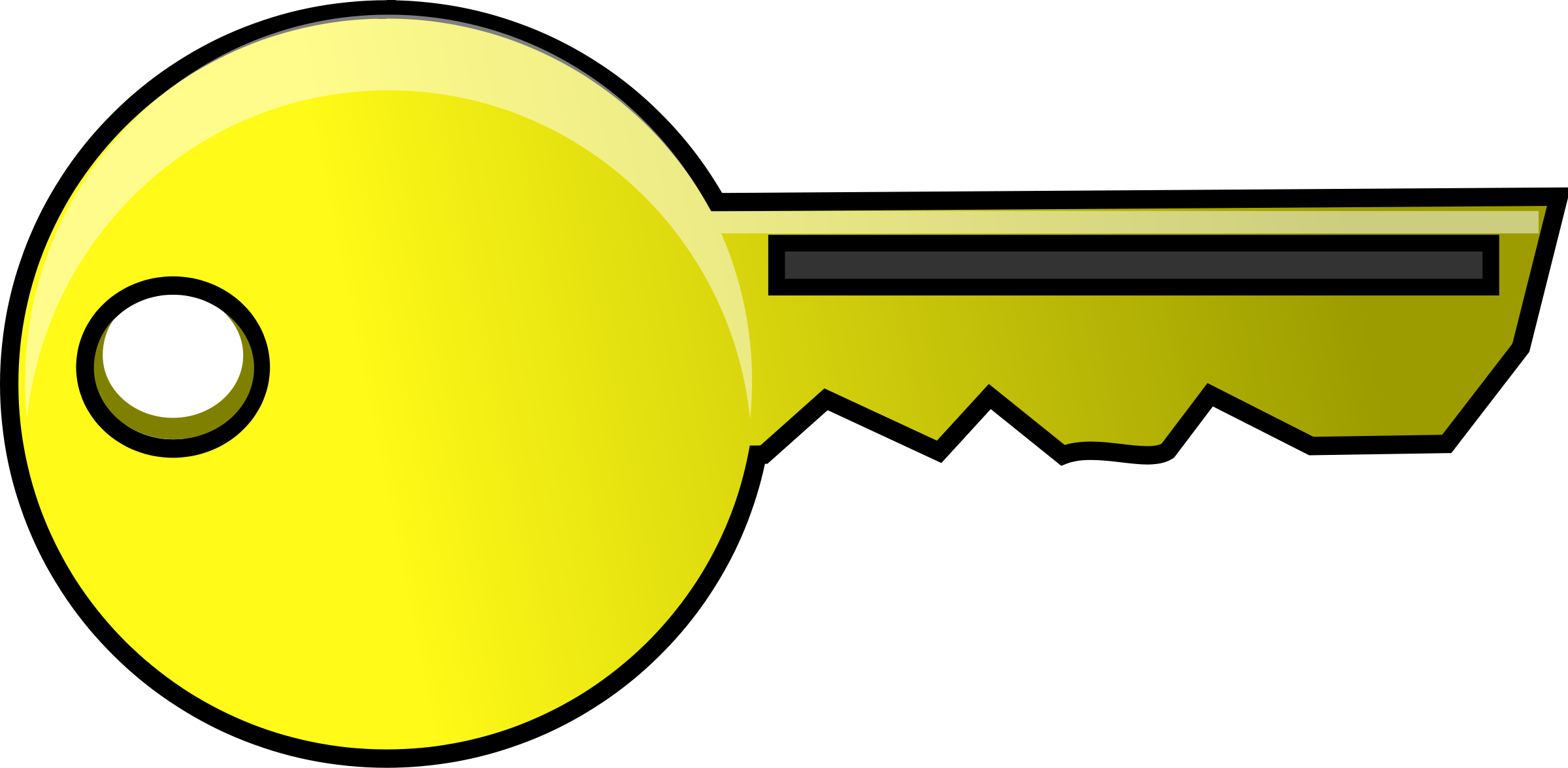 Key clip art vector key graphics image 3