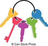bunch of keys Clipartby Clipa - Key Clipart