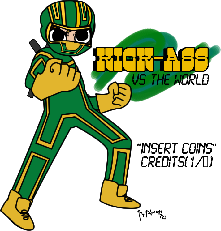 KICK-ASS VS THE WORLD by abramoxd ClipartLook.com
