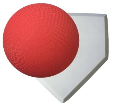 Kick ball clip art ...