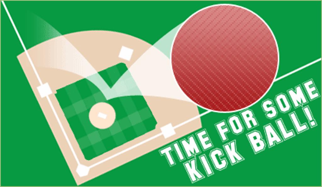 Kickball Clipart. Kickball