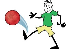 Kickball Game Clipart