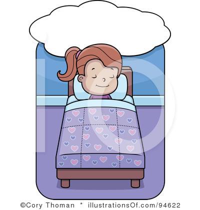 Kid Going To Bed Clipart-kid going to bed clipart-12