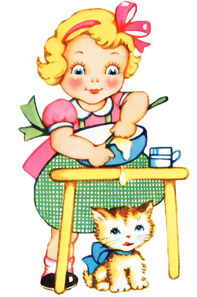 Kid Cooking Clipart Images . - Free Cooking Clipart