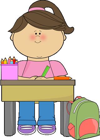 Kid Doing School Work Clip Art Kid Doing-Kid Doing School Work Clip Art Kid Doing School Work Vector Image-2