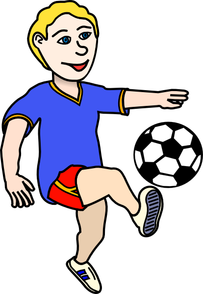 ... Kid Football Player Clipart - Free C-... Kid Football Player Clipart - Free Clipart Images ...-18