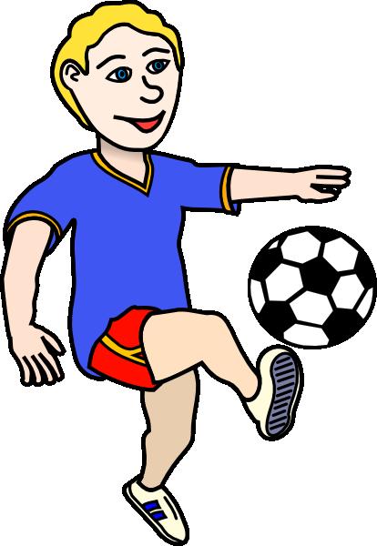 ... Kid Football Player Clipa - Play Clip Art