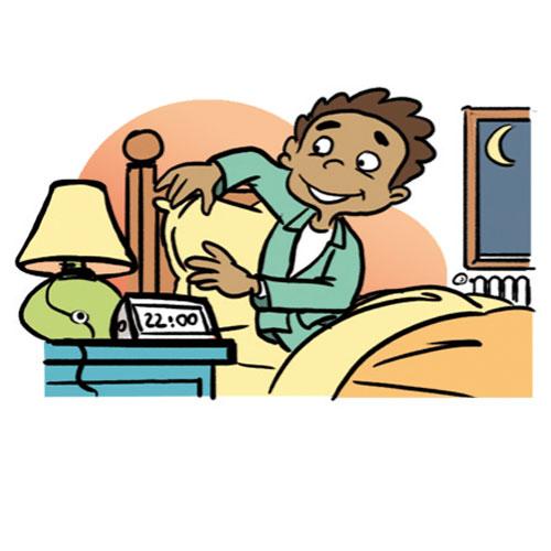 Kid Going To Bed Clipart .-Kid Going To Bed Clipart .-14