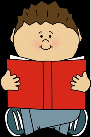Kid Reading Alone
