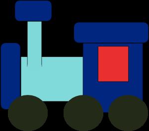 Kiddy train clip art at clker com vector clip art