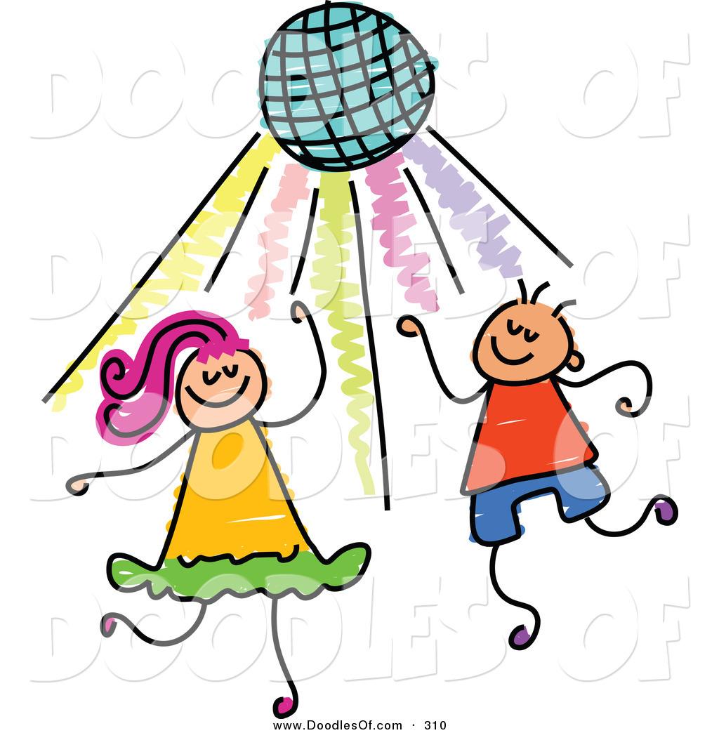 kids dance party clipart-kids dance party clipart-14