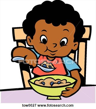 kids eating healthy clipart - Children Eating Clipart
