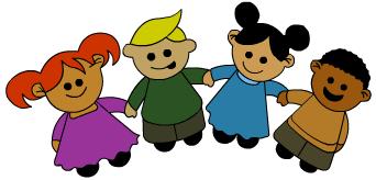Kids Holding Hands Clipart-kids holding hands clipart-12