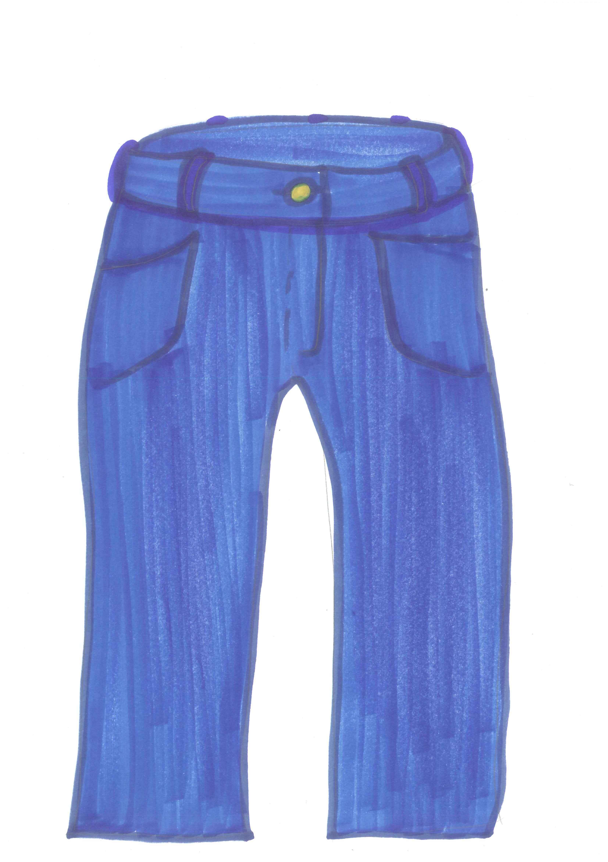 kids pants clipart