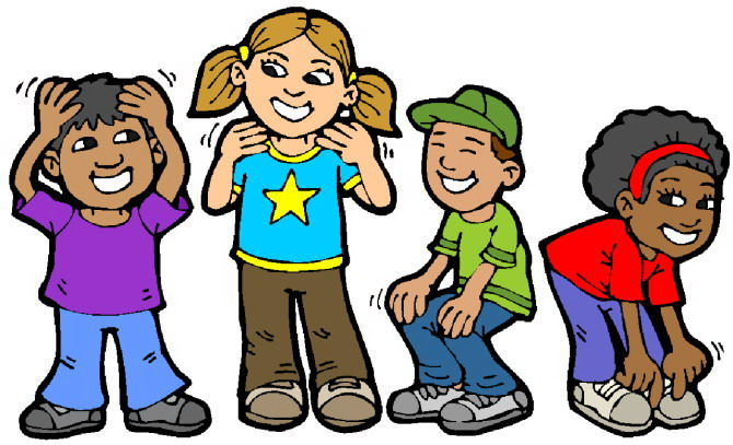 kids playing clipart