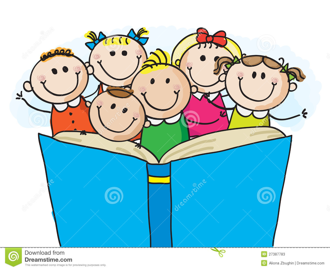 kids reading clipart-kids reading clipart-10