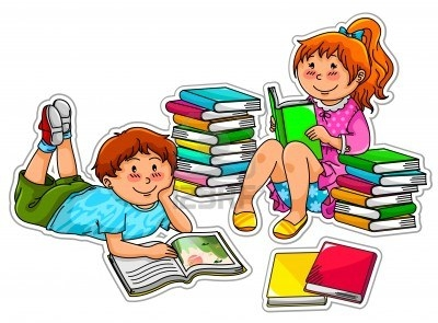 kids reading together% . - Kids Reading Clipart