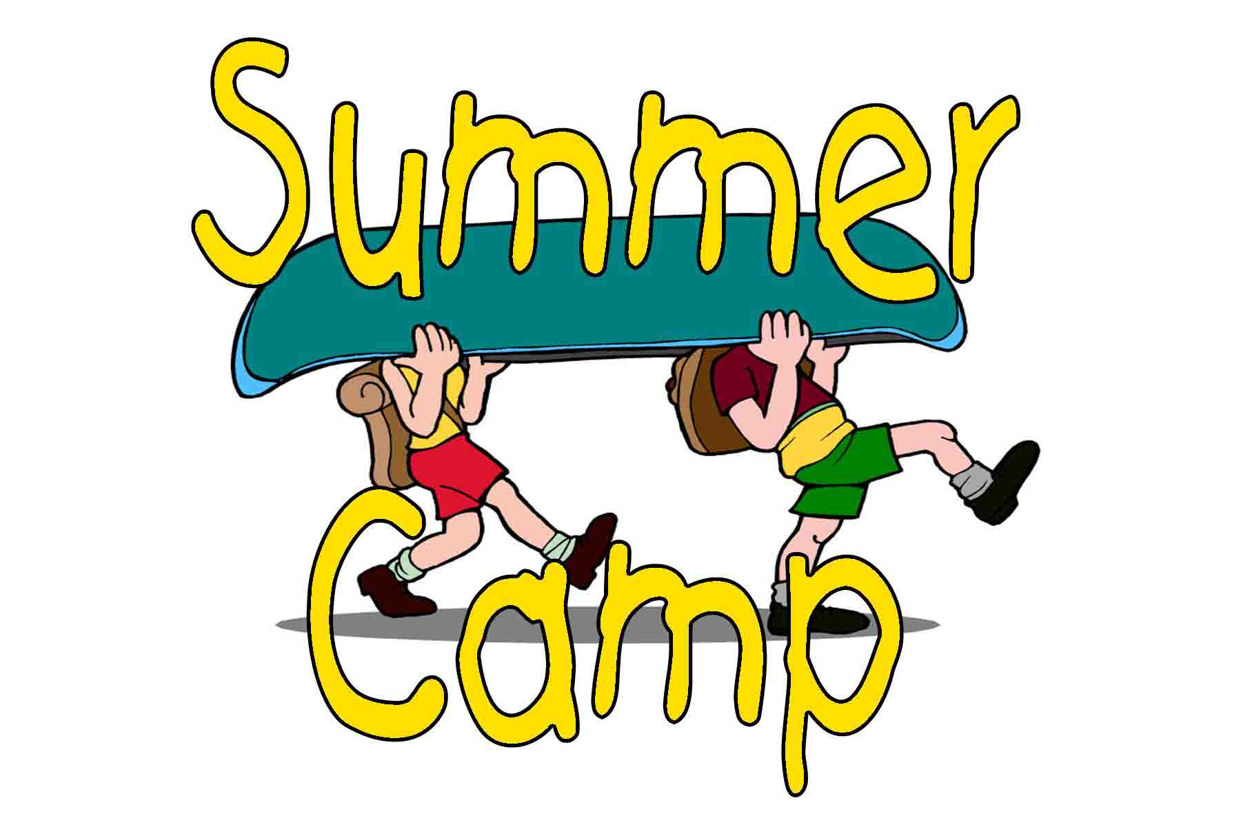 kids summer camp clipart