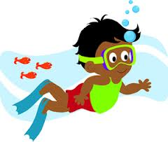 kids swimming pool clipart