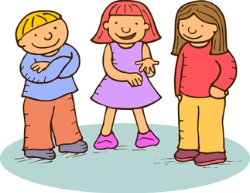 Kids Talking Clipart-kids talking clipart-8