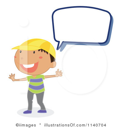 Kids Talking Clipart-kids talking clipart-9