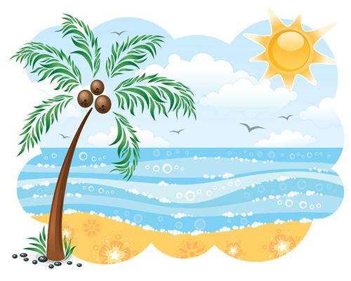 Kids At The Beach Clipart Black And Whit-Kids At The Beach Clipart Black And White | Clipart library - Free-9