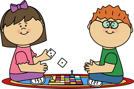 Kids Board Game Clip Art