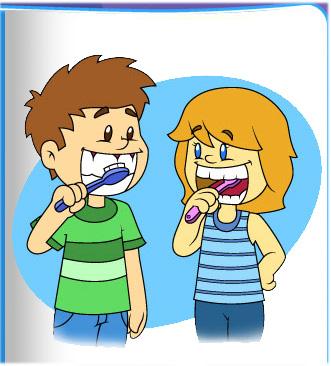 Kids Brushing Teeth Clipart .-kids brushing teeth clipart .-15