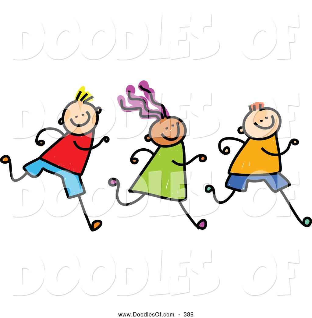 Kids Clip Art u0026middot; Running Clip Art