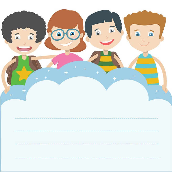 illustration kids clipart graphics the classroom