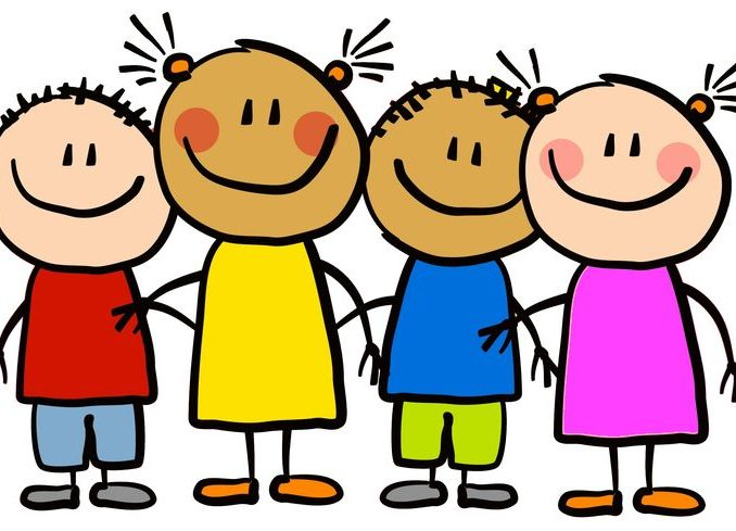 Kids Clipart Free kid child clipart free clipart images clipartlook blank  coloring pictures