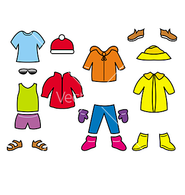 Kids Clothes Clip Art