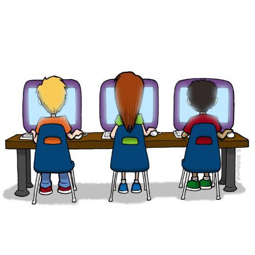 Kids Computer Lab Clipart Clipart Panda -Kids Computer Lab Clipart Clipart Panda Free Clipart Images-17