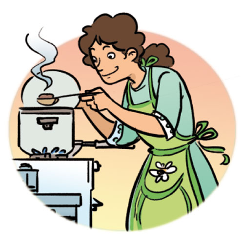 Kids cooking clipart free clipart image clipartcow
