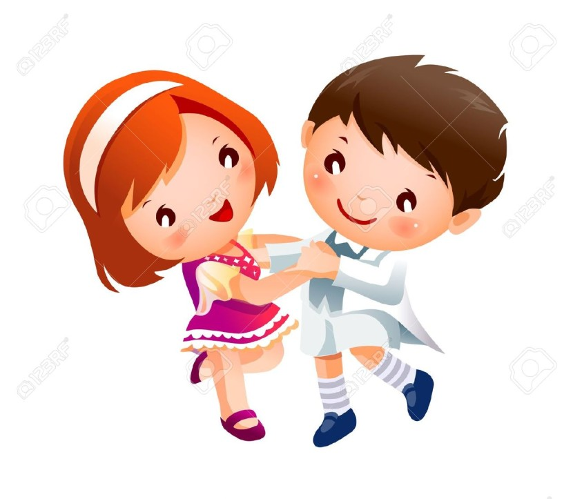Kids Dancing Clipart u0026middot; Boy And Girl Dancing Royalty Free Cliparts Vectors And Stock