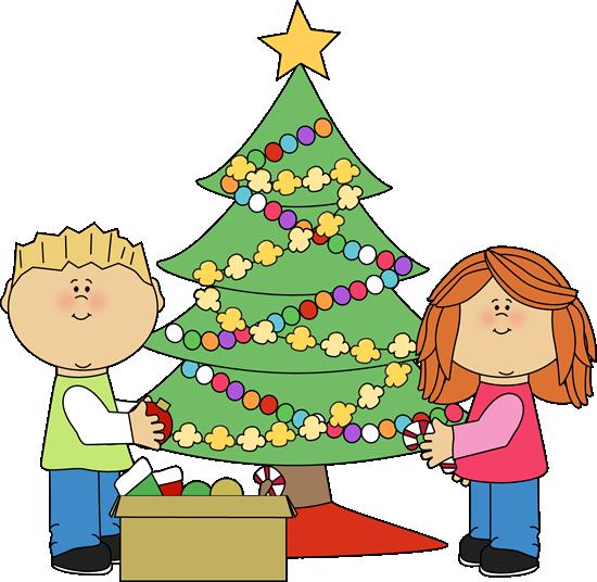 Kids Decorating A Christmas Tree-Kids Decorating a Christmas Tree-16
