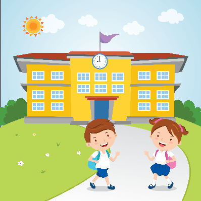 Kids Go to School | Clipart | The Arts | Image | PBS LearningMedia