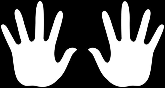 Kids Hand Clipart Black And White Clipar-Kids Hand Clipart Black And White Clipart Panda Free Clipart-14