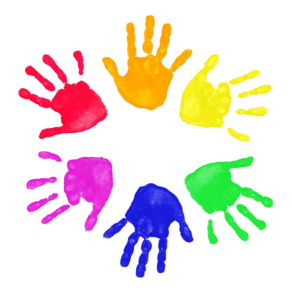 Kids Handprint Clipart Clipart Panda Fre-Kids Handprint Clipart Clipart Panda Free Clipart Images-11