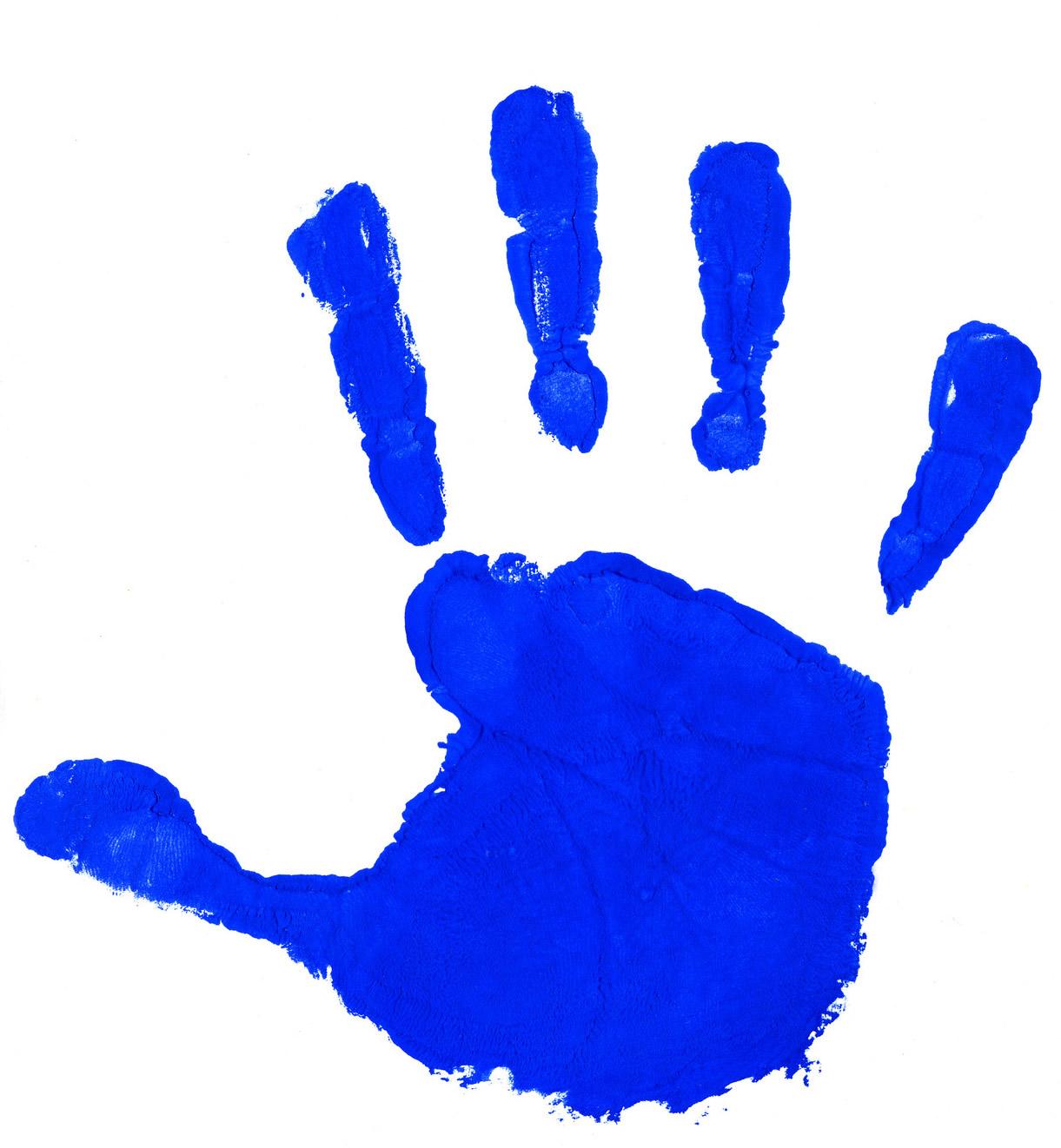 Kids Handprint Clipart Handprint